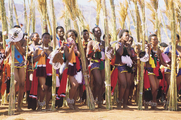 Eswatini (formerly Swaziland), South Africa