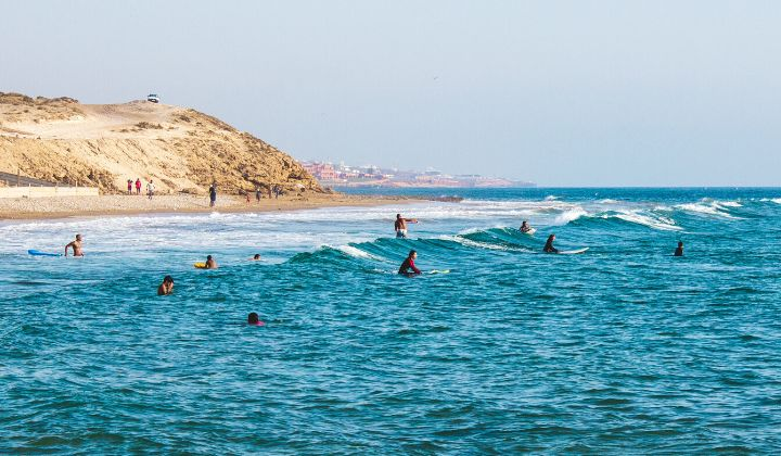 Morocco Surfing